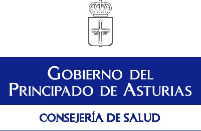 logotipo consejería de salud asturias